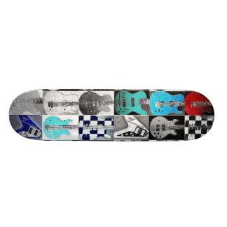 Guitars On Wheels! Skateboard