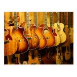 Guitars Postcards