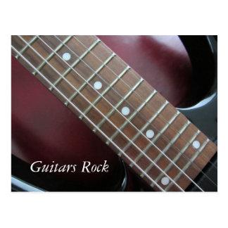 Guitars Rock - Electric Guitar Postcards