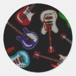 Guitars Sticker