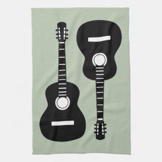 Guitars Tea Towel