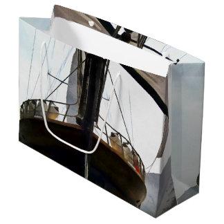 Gulet Under Sail Large Gift Bag