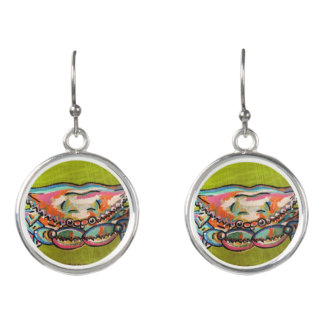 Gulf Coast Crab Earrings