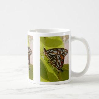 Gulf fritillary butterflies - Mug