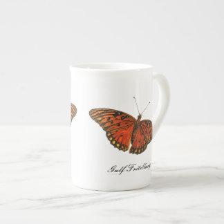 Gulf Fritillary Butterfly China Mug Bone China Mug