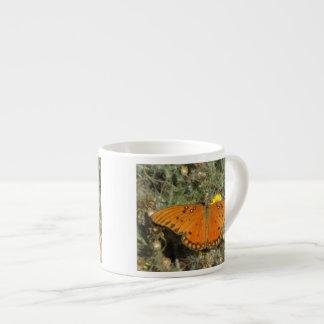 Gulf Fritillary Butterfly Espresso Mugs