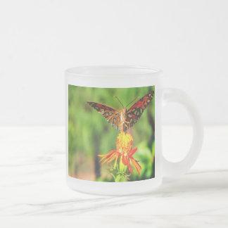 Gulf Fritillary Butterfly Front View Mug