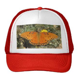 Gulf Fritillary Butterfly Hat