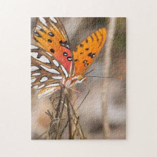 Gulf Fritillary Butterfly Jigsaw Puzzle