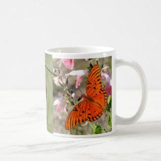 Gulf Fritillary Butterfly Lifecycle Coffee Mug