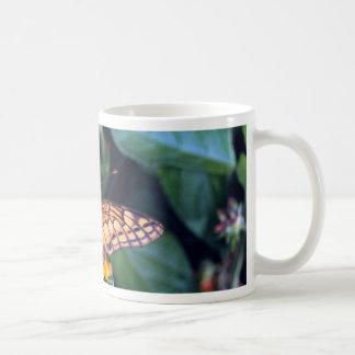 Gulf fritillary butterfly, Mexico Coffee Mugs