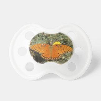 Gulf Fritillary Butterfly Pacifier