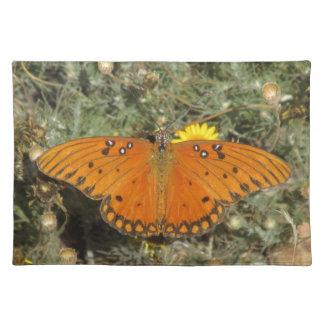 Gulf Fritillary Butterfly Placemat