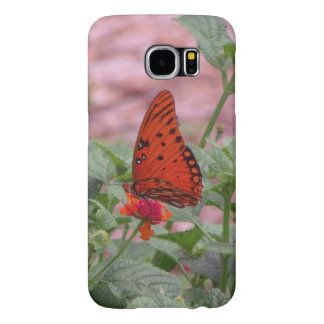 Gulf Fritillary Butterfly Samsung Galaxy S6 Cases