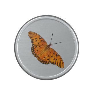 Gulf Fritillary butterfly speaker