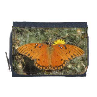 Gulf Fritillary Butterfly Wallets
