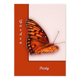 """Gulf Fritillary 5"""" X 7"""" Invitation Card"""