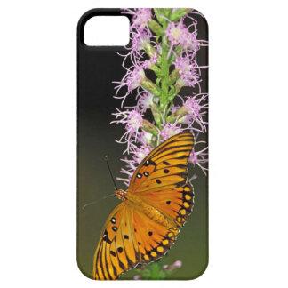 Gulf Fritillary on Blazingstar iPhone 5 Covers