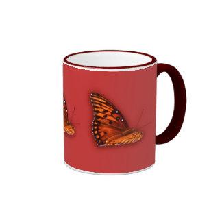 Gulf Fritillary Ringer Mug