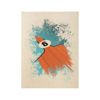 Gulf livery poster wood poster