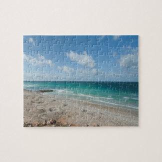 Gulf of Aden, beach, Socotra Island, Yemen Jigsaw Puzzle