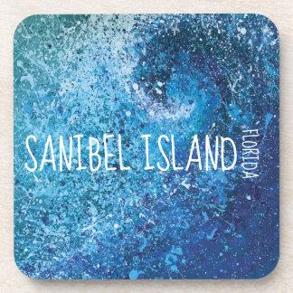 Gulf of Mexico Art - Sanibel Island Coaster