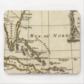 Gulf of Mexico, Caribbean Isles Mouse Mat