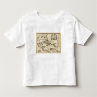 Gulf of Mexico, Caribbean Isles Toddler T-Shirt