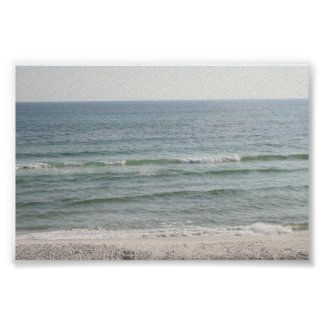 Gulf of Mexico from Seaside Poster