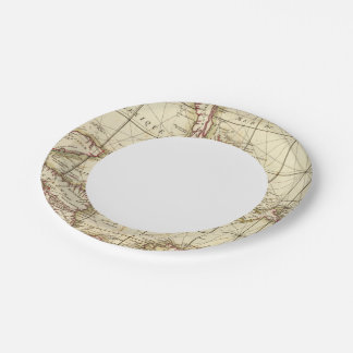 Gulf of Mexico Paper Plate
