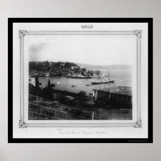 Gulf of Tarabya Istanbul, Turkey 1885 Posters