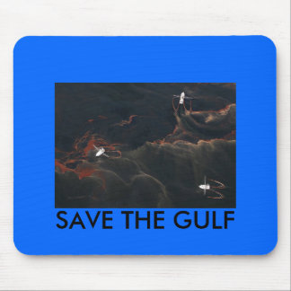 gulf oil, SAVE THE GULF Mouse Pad