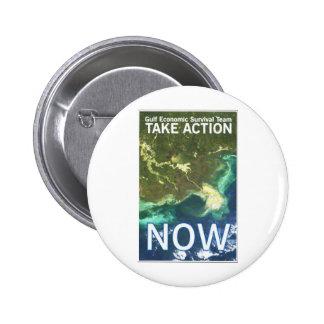 Gulf Oil Spill button