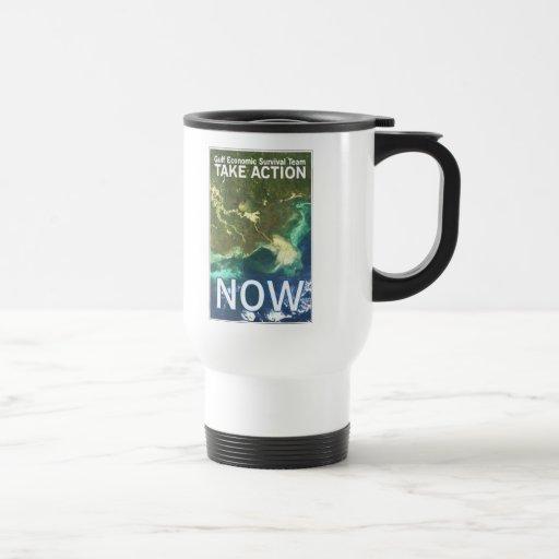 Gulf Oil Spill travel mug