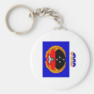 Gulf Province, PNG Keychain