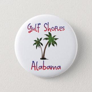 Gulf Shores Alabama 6 Cm Round Badge