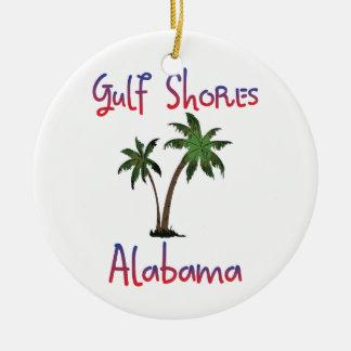 Gulf Shores Alabama Christmas Ornament