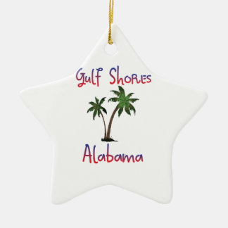 Gulf Shores Alabama Christmas Ornament