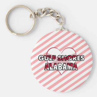 Gulf Shores, Alabama Key Ring