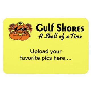 Gulf Shores Alabama Rectangular Photo Magnet
