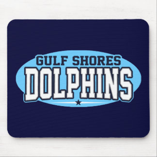 Gulf Shores High School; Dolphins Mouse Pad