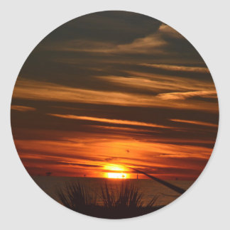 Gulf Shores Plantation Classic Round Sticker