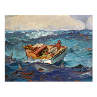 Gulf Stream by Winslow Homer Postcard