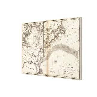 Gulf Stream Stretched Canvas Prints