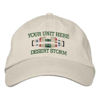 Gulf War Combat Infantryman Badge Hat Embroidered Baseball Cap