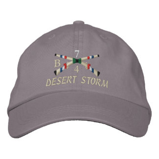 Gulf War Infantry Crossed Rifle Hat Embroidered Hats