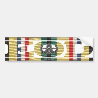 Gulf War SWA Campaign Medal EOD Sticker Bumper Stickers