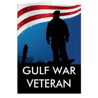 Gulf War Veteran Card