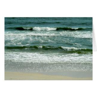 Gulf Waves Greeting Card