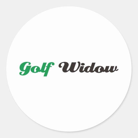 Gulf Widow Round Sticker